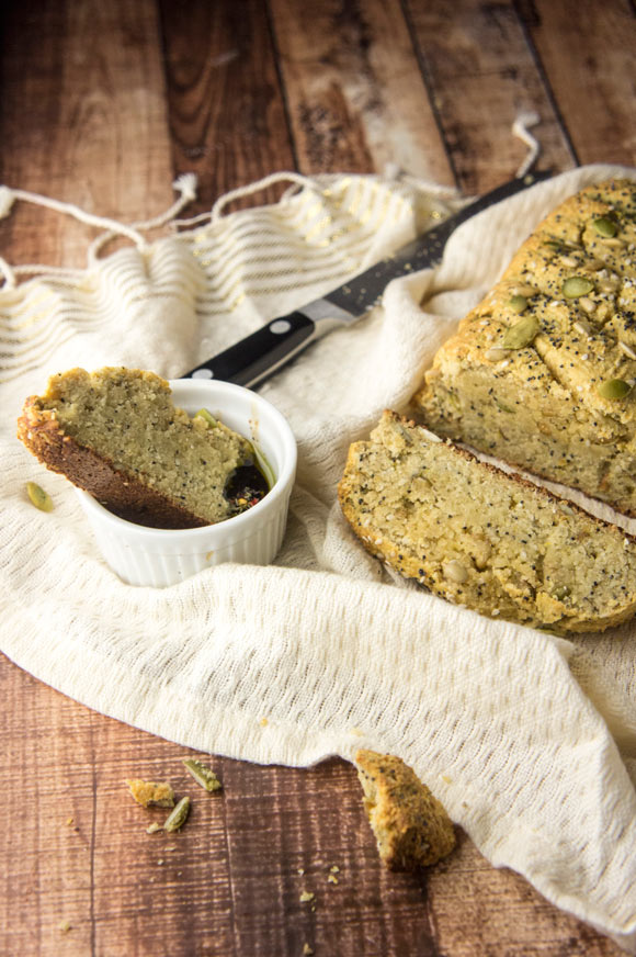 "Grain-Free ""Seeduction"" Bread (paleo)"