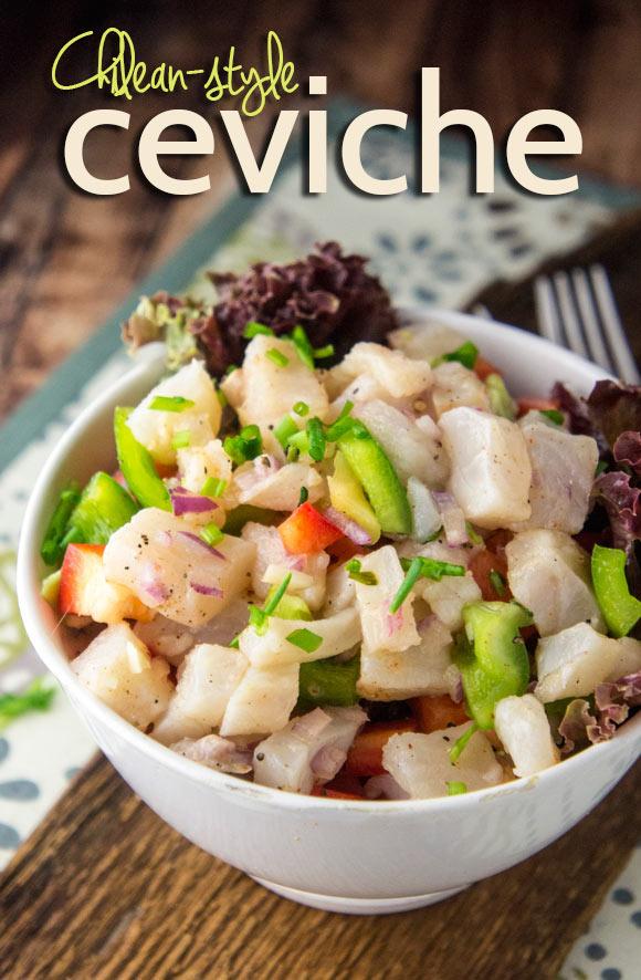 Chilean-Style Ceviche