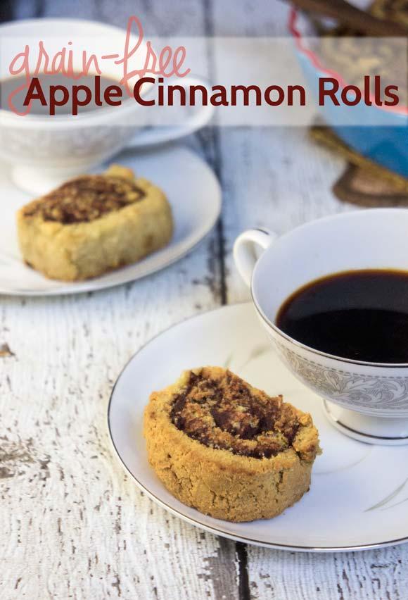 Grain-free cinnamon rolls