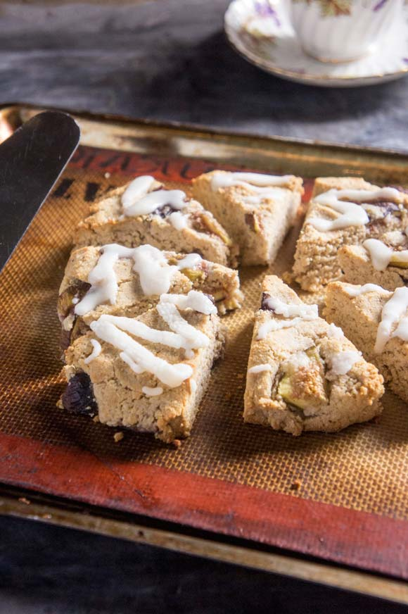 Paleo Fig & Honey Scones