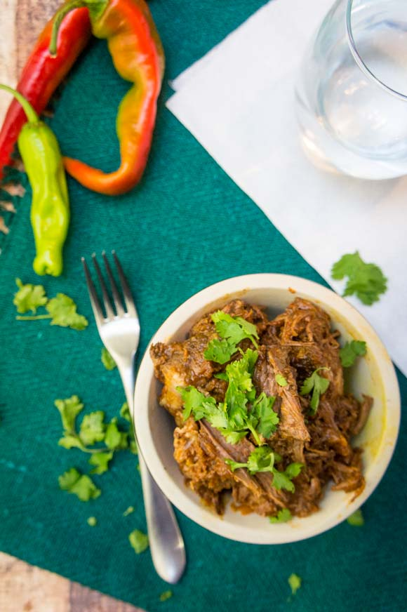 Slow Cooker Enchilada Beef
