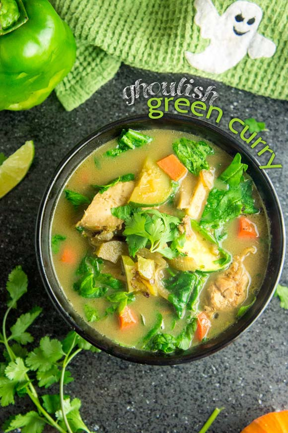 Ghoulish Green Curry