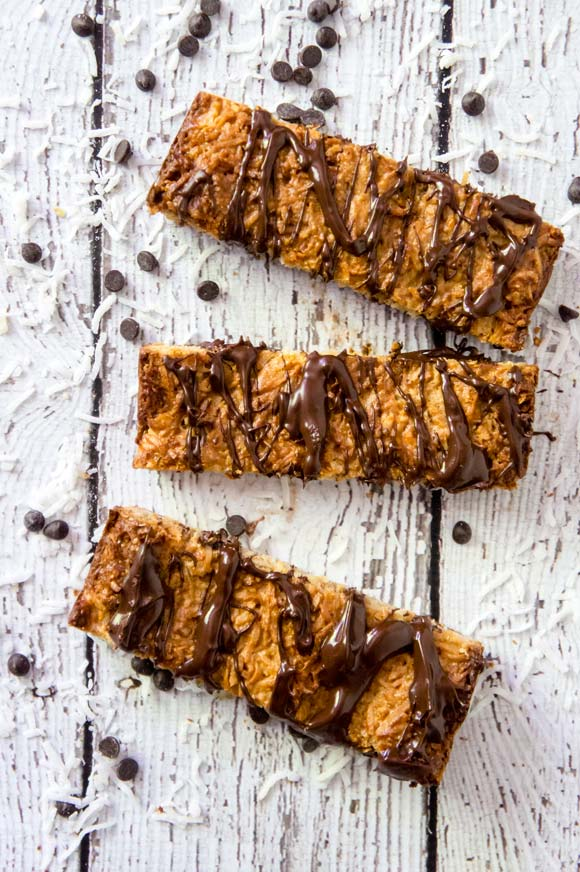 grain-free nut butter granola bars
