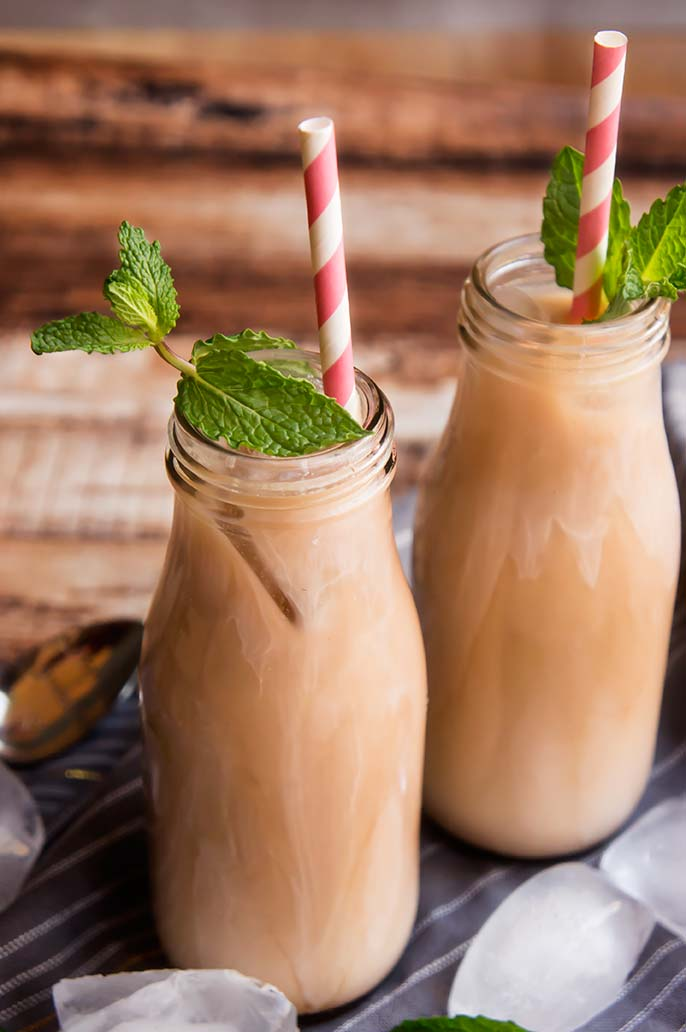 Fresh Mint Mocha Cold Brew Coffee