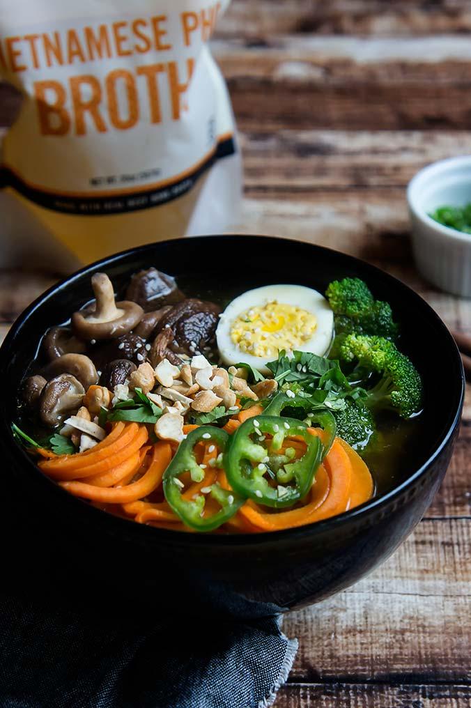 Sweet Potato Noodle Ramen