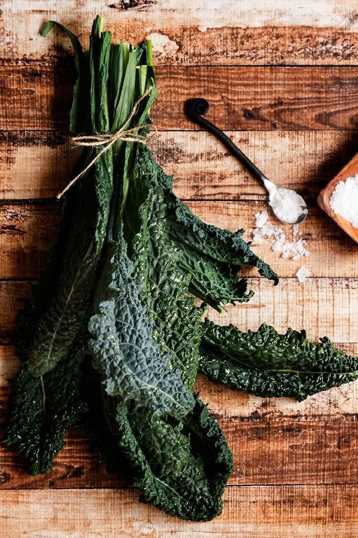 Rosemary & Sea Salt Kale Chips
