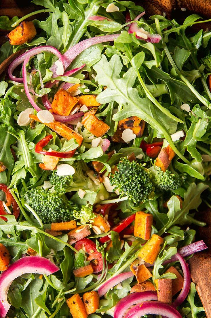 Fresh Mint & Fresno Chile Broccoli Salad