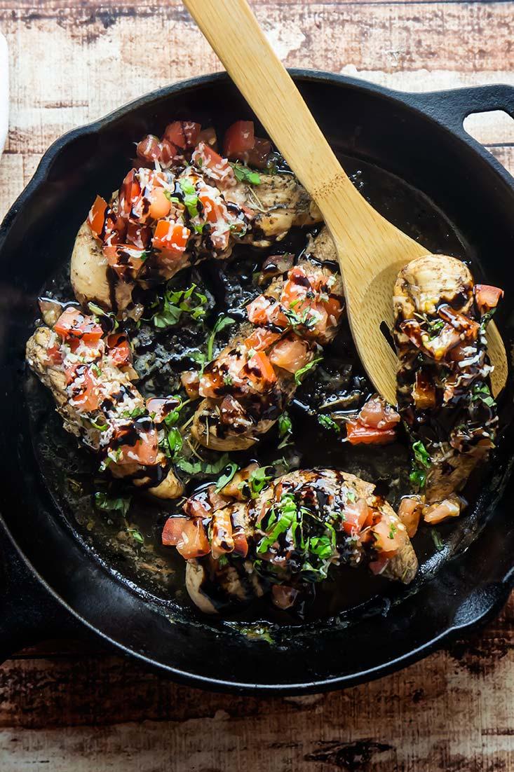Bruschetta-Topped Chicken