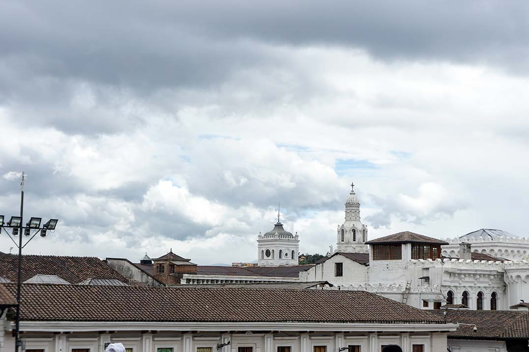 Skyline in Quito