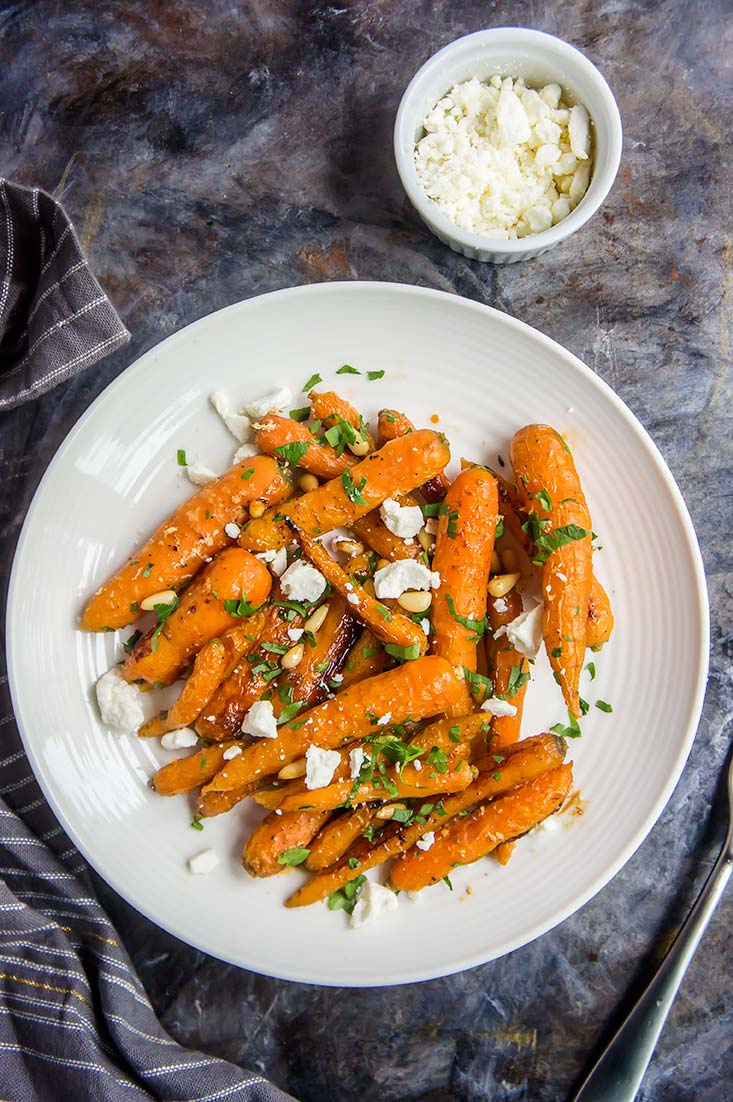 Ginger Honey Glazed Carrots