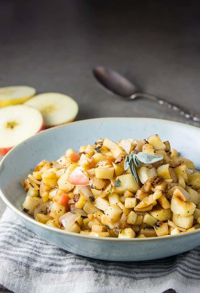Parsnip & Apple Sauté