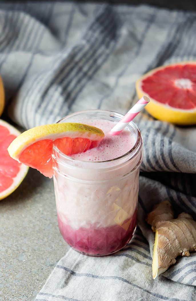 Grapefruit, Pomegranate & Ginger Smoothie