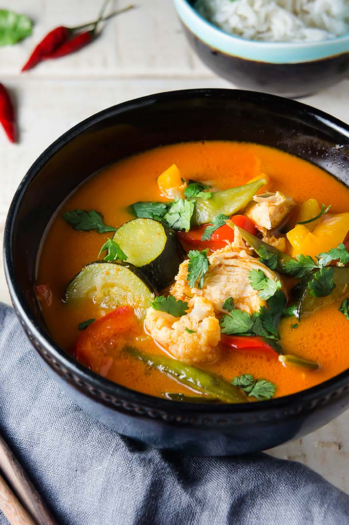 Instant Pot Thai Coconut Chicken Curry