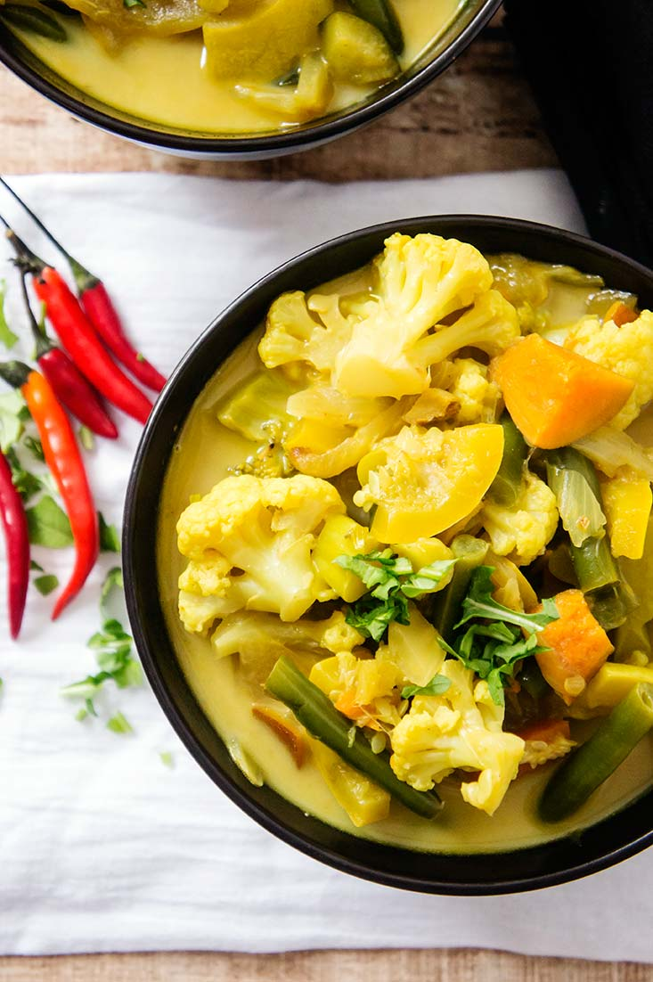 Healthy Vegetable Curry Soup Primal Recipe