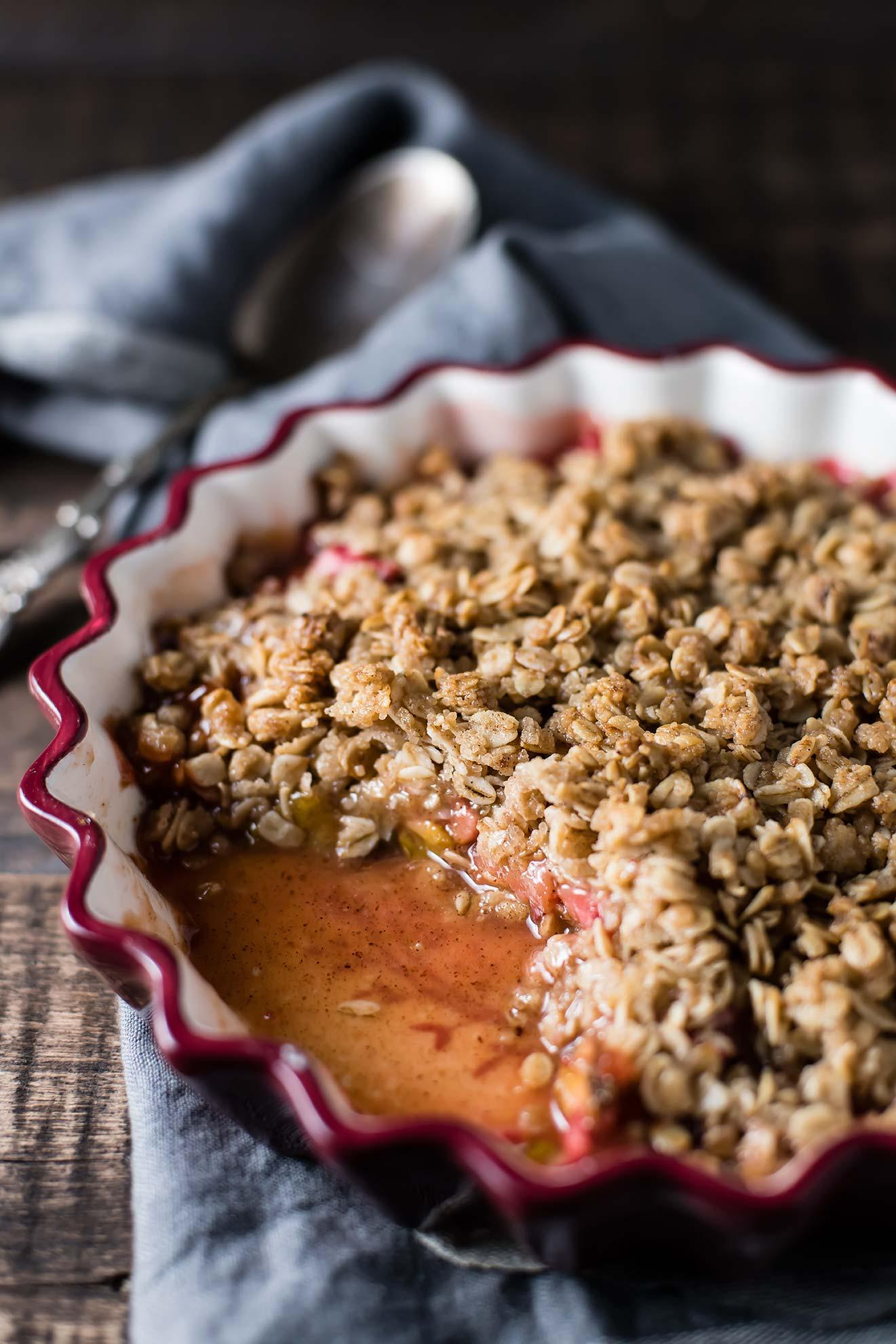 Gluten-Free Rhubarb Crisp