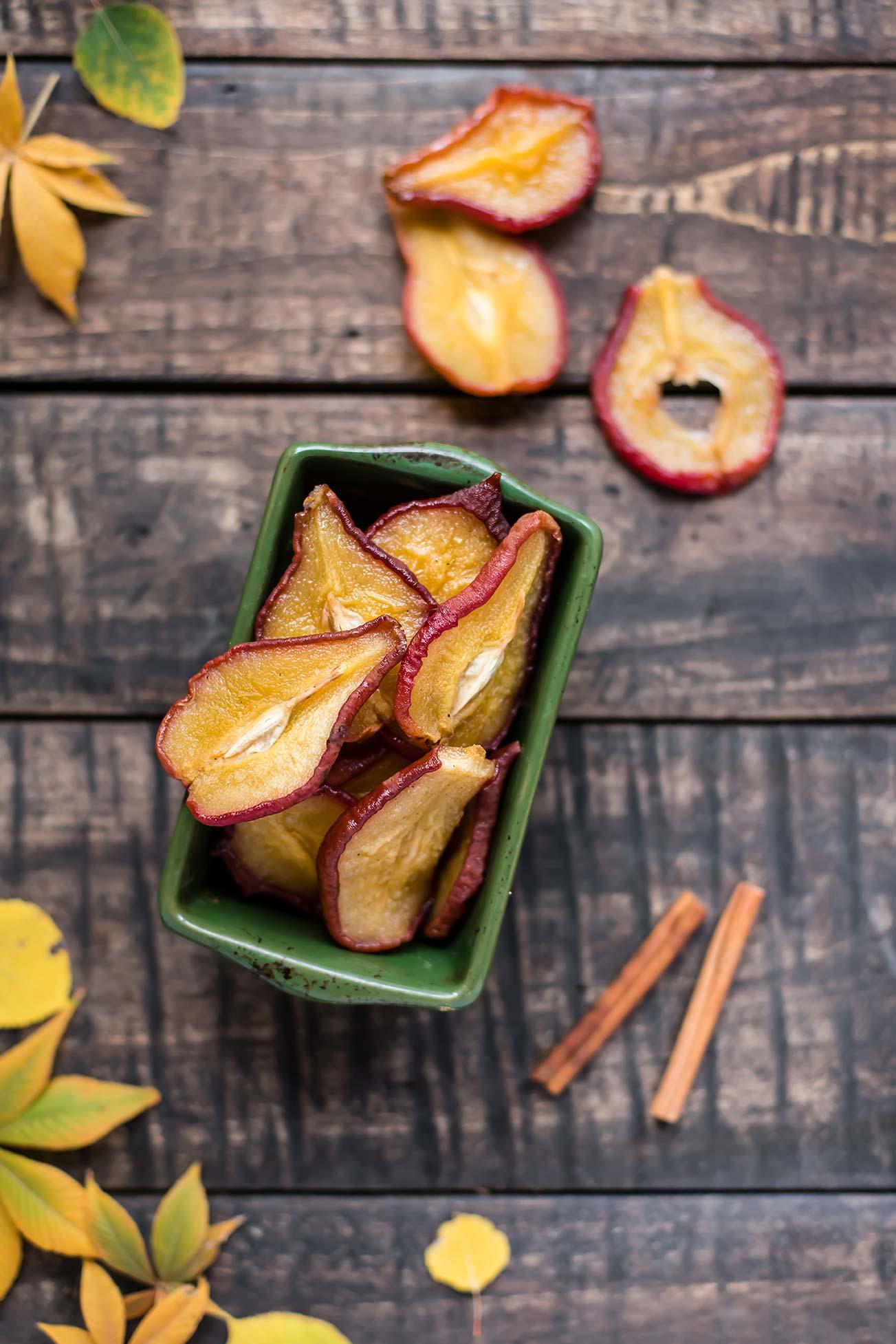 Vanilla Chai Spice Dried Pears