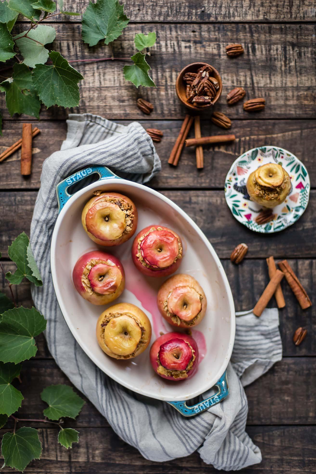 Baked Oatmeal Apples