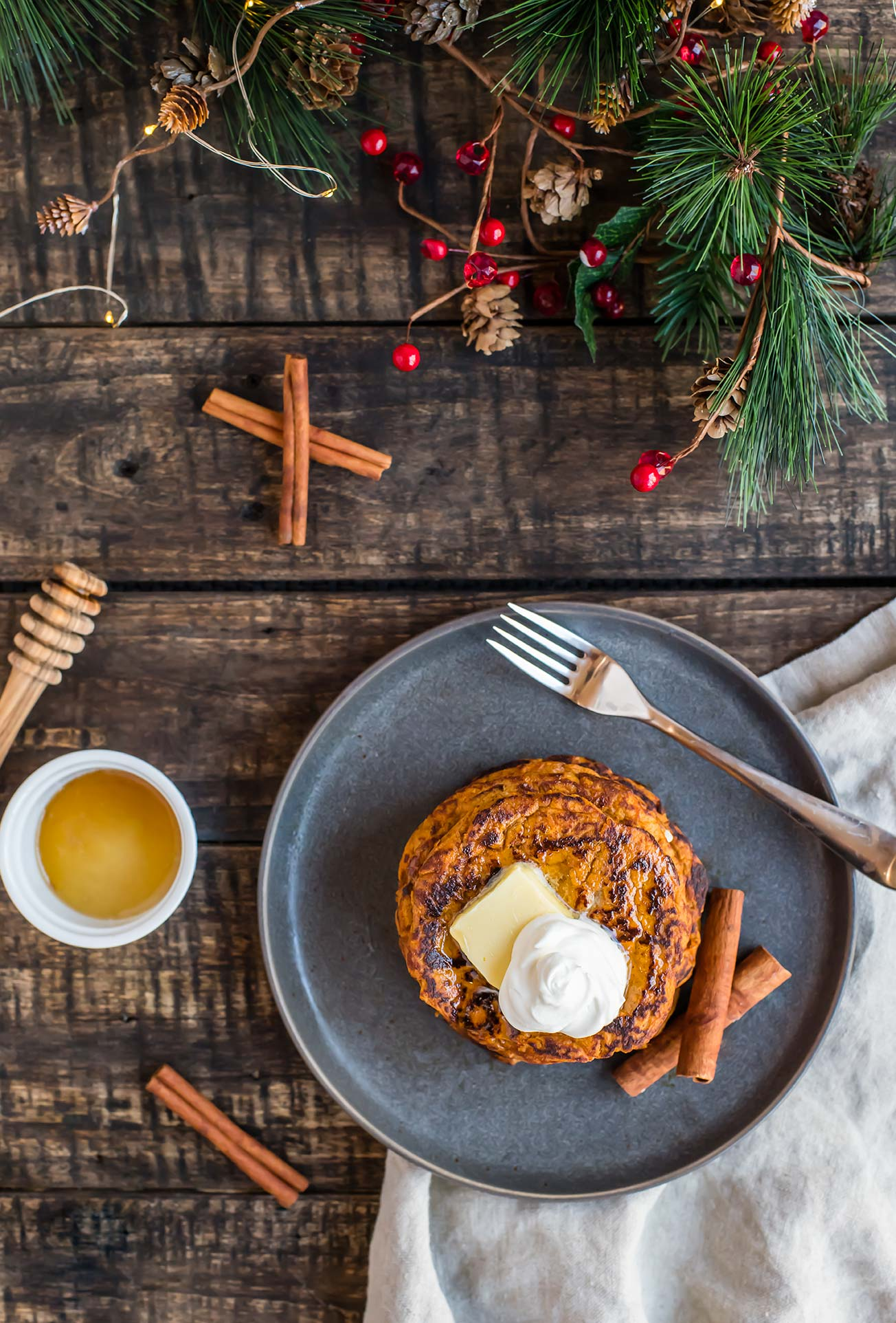 Grain-Free Sweet Potato Pancakes
