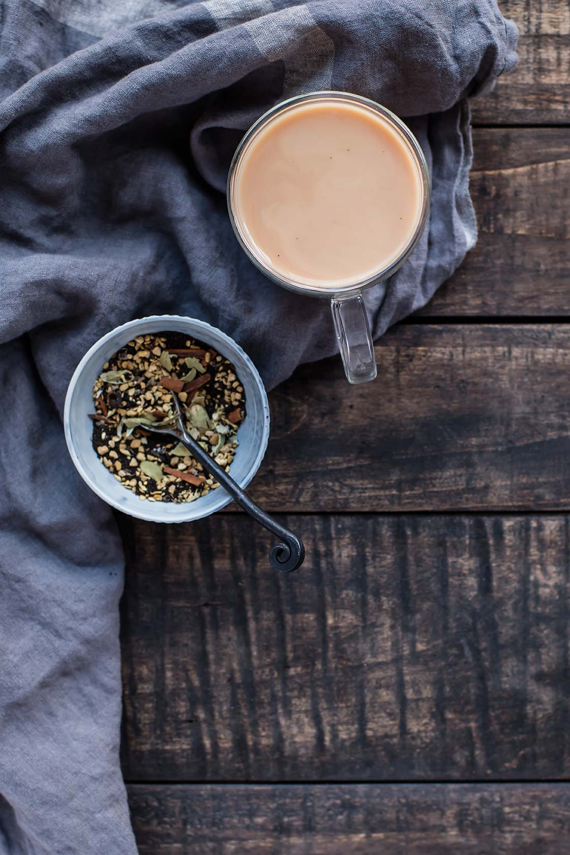 Homemade Loose Leaf Masala Chai Tea