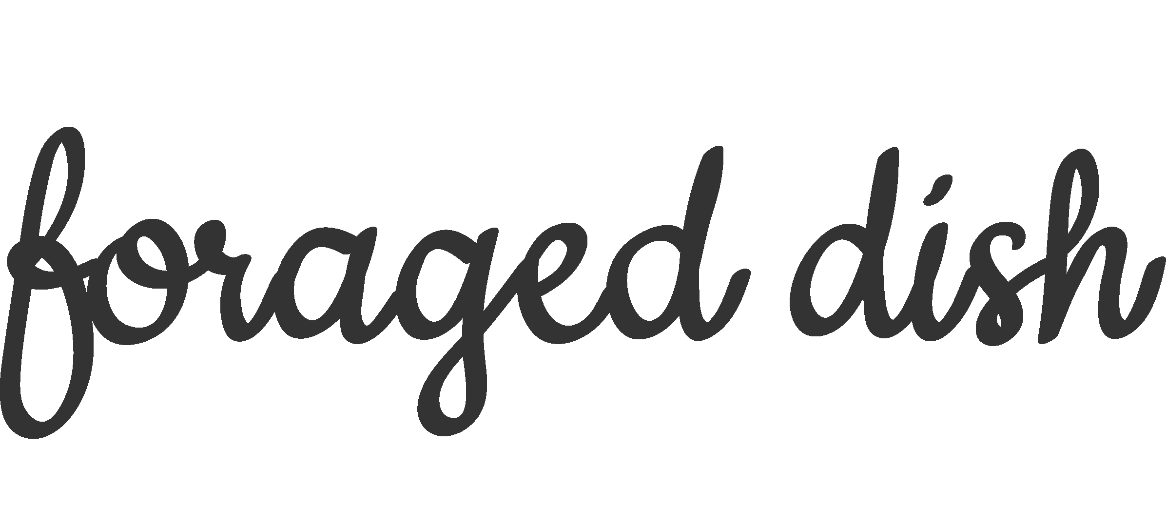 Foraged Dish
