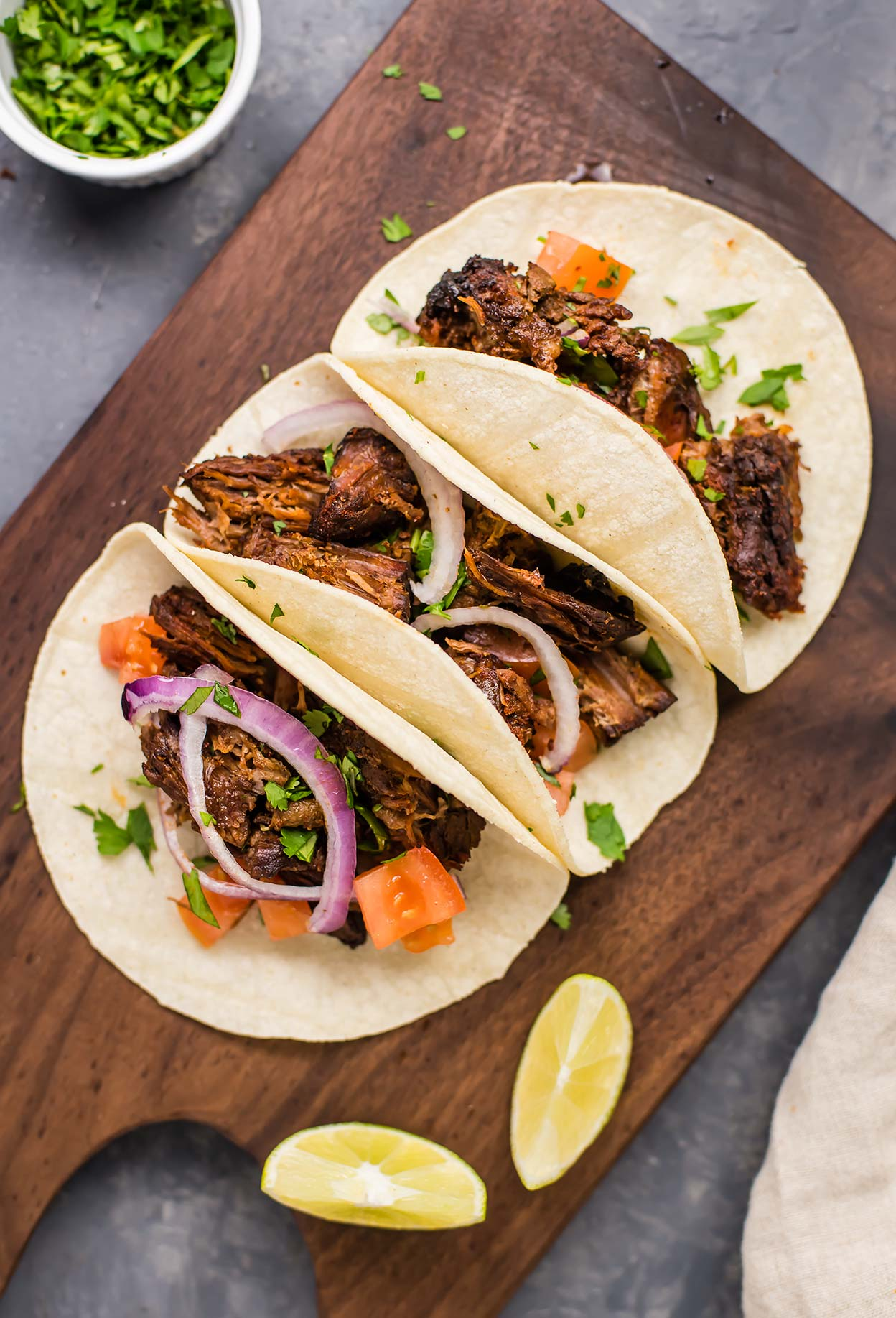 Paleo Slow Cooker Beef Carnitas