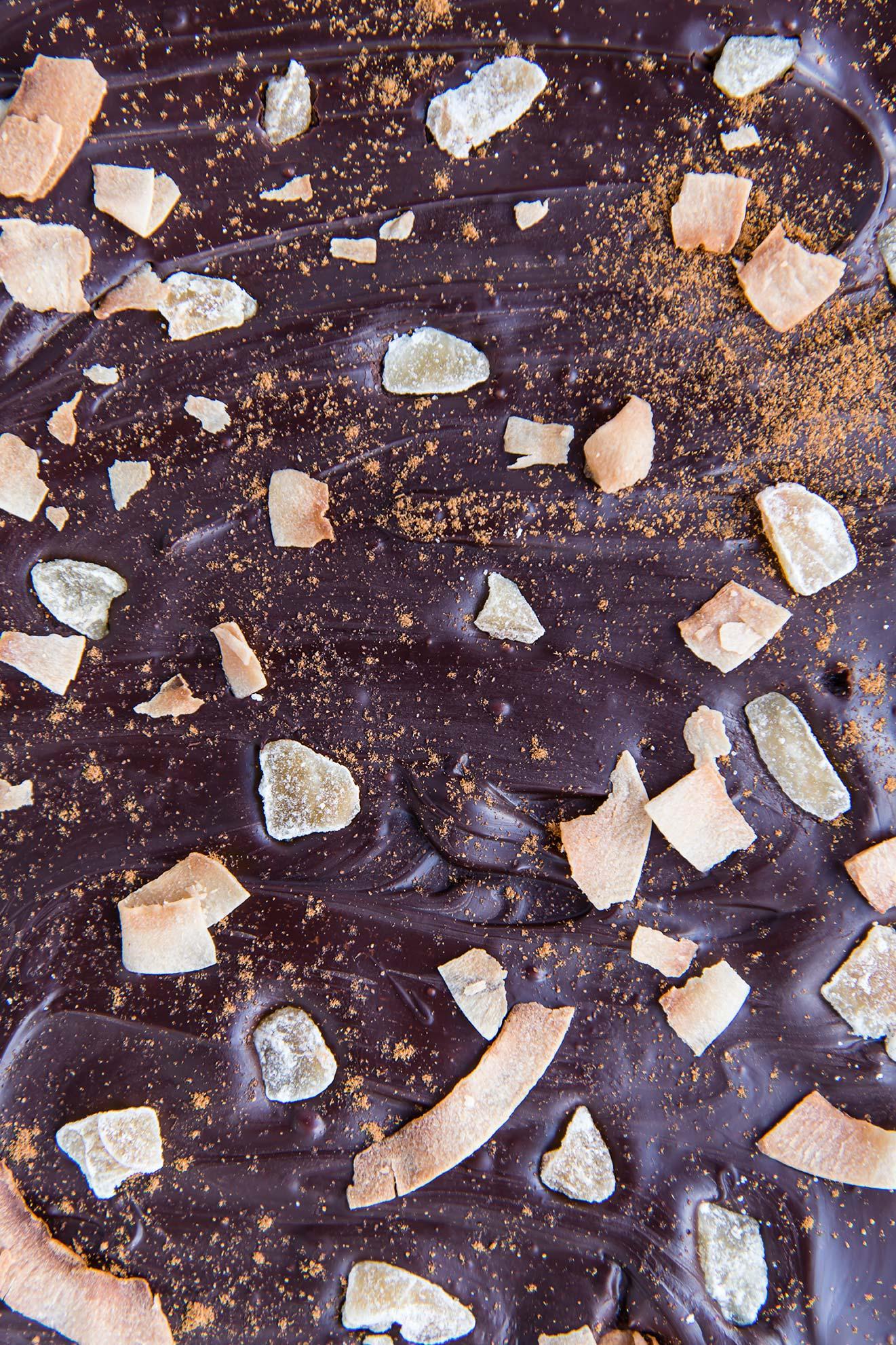 Chai-Spiced Chocolate Coconut Bark
