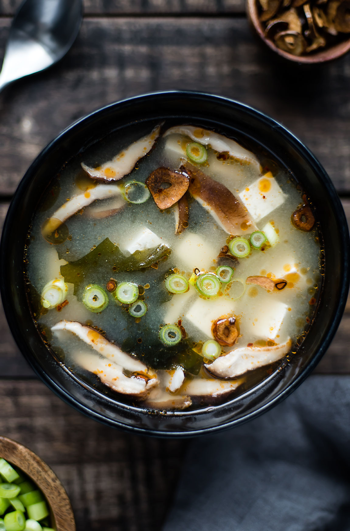 Vegan Dinner Miso Soup