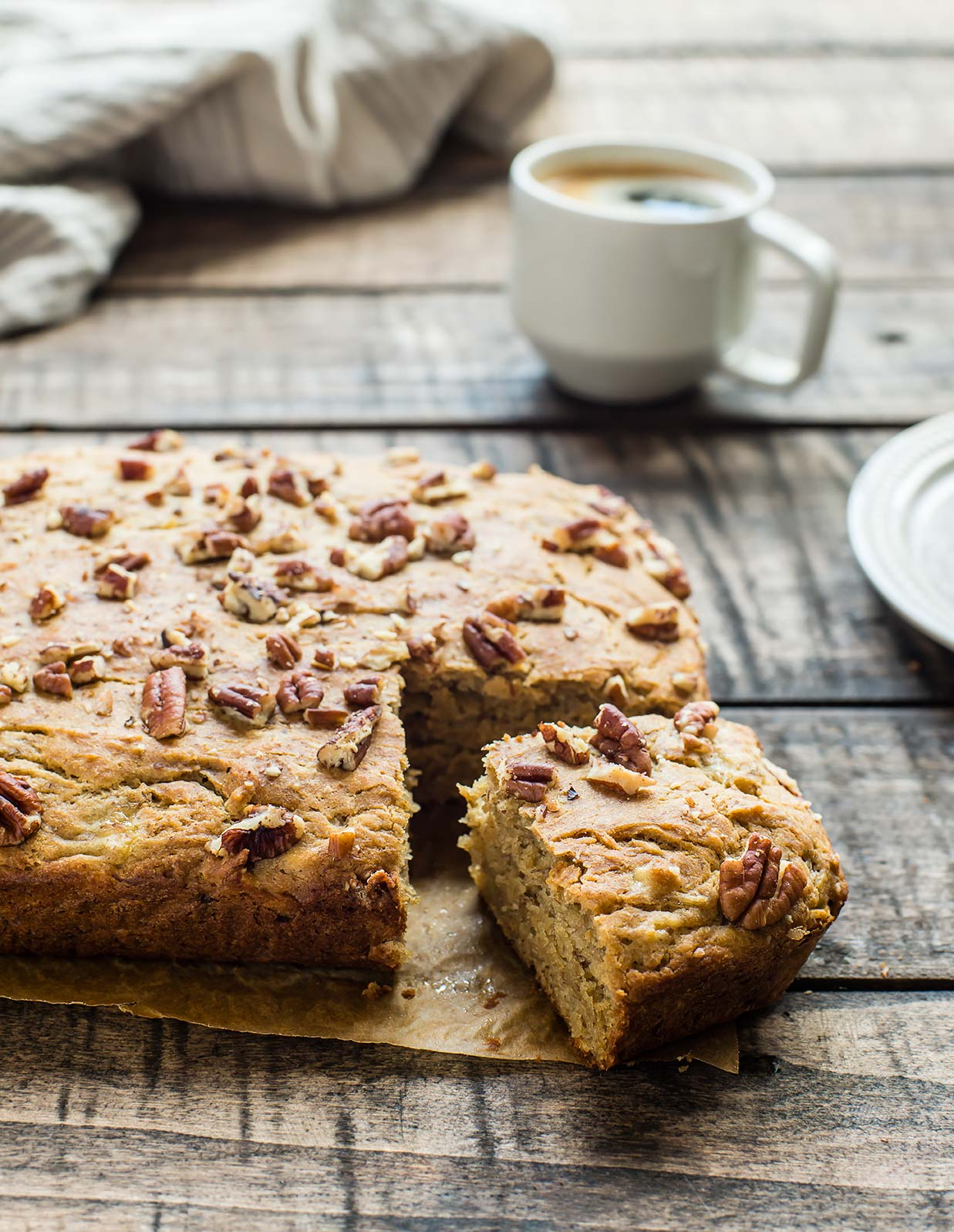 Gluten-Free Banana Nut Snacking Cake