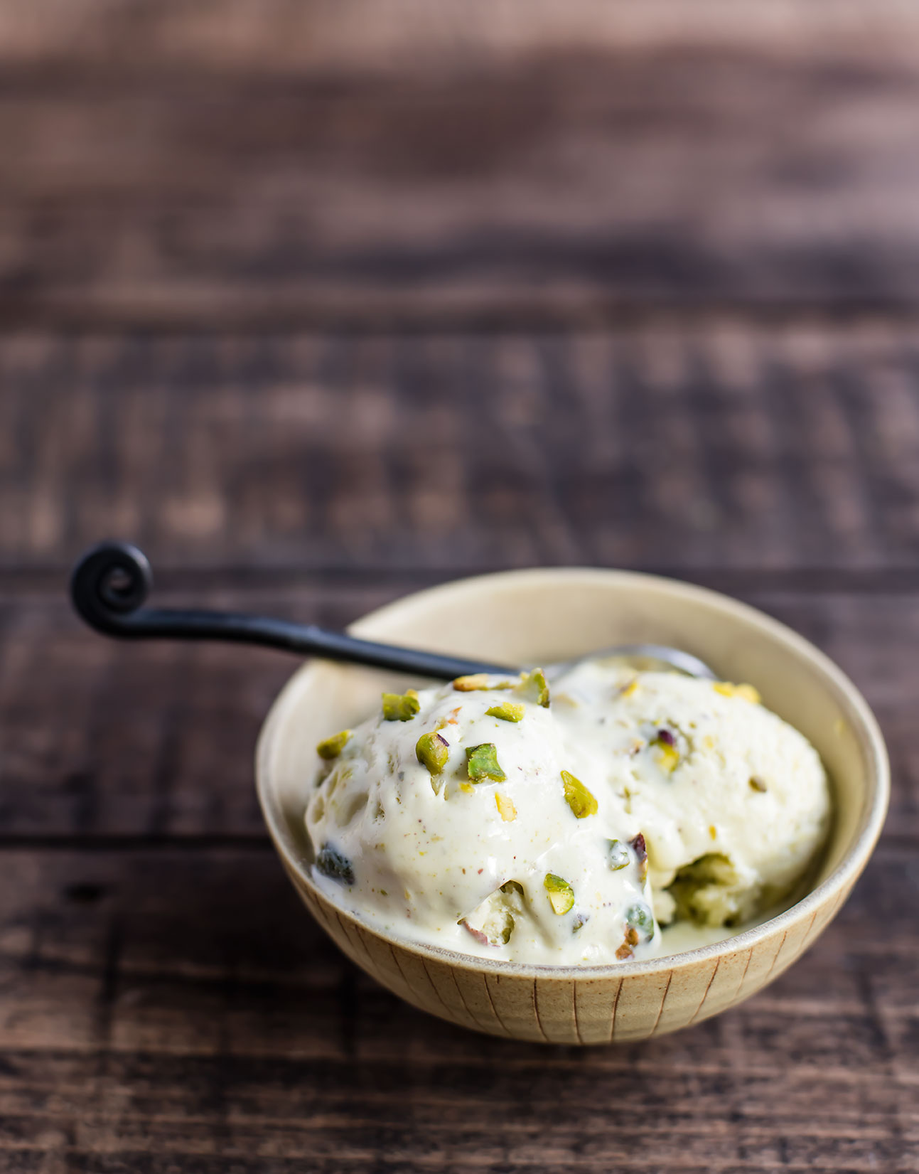 No-Churn, 5-Ingredient Pistachio Ice Cream