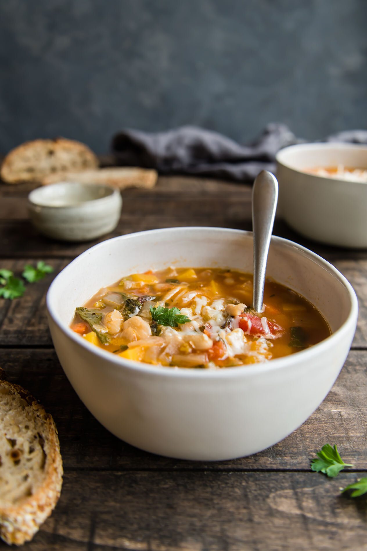 Instant Pot Fall Harvest Minestone Soup