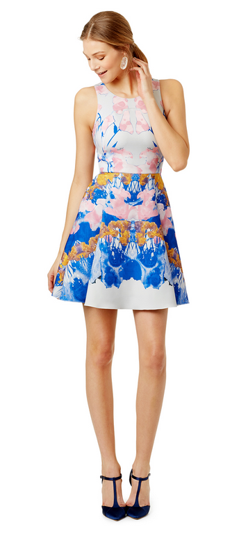 Watercolor Dive Dress by Hunter Bell , $65 retail