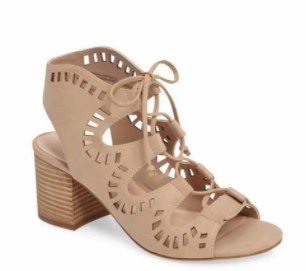 B.P Lace up sandal - Comes in three colors!