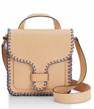 Rebecca Minkoff leather bag - Amazing stitching!