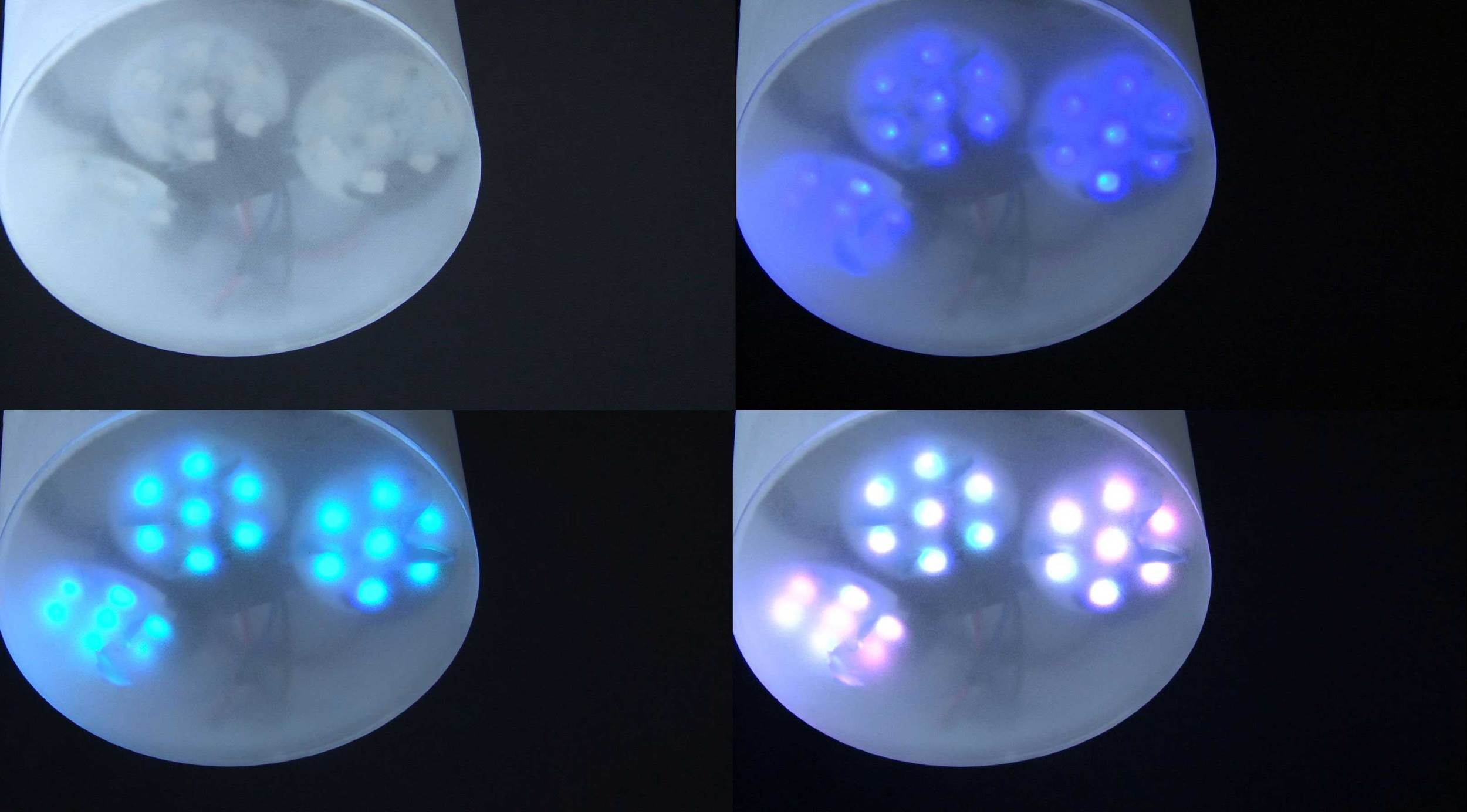 21 RGB LEDs changes into various colors according the user's taste.