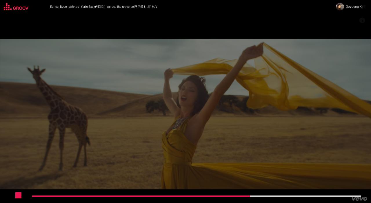 Background video in full screen