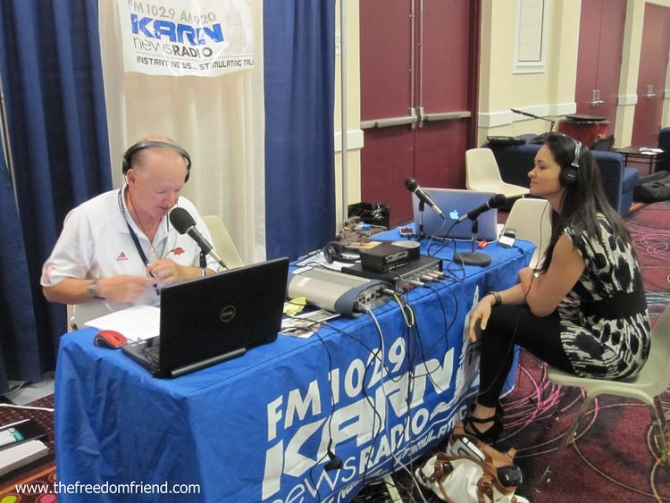 The Freedom Friend's Michelle Kova on FM 102.9 KARN News Radio