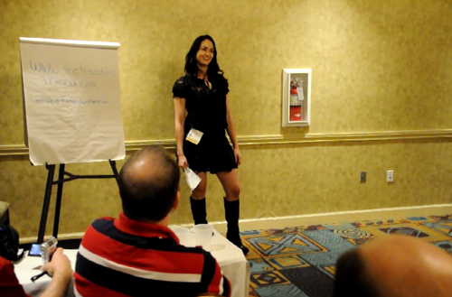 The Freedom Friend's Michelle Kova speaks at California Libertarian State Convention breakout session