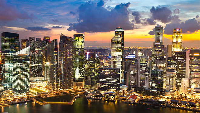 Singapore, a mecca of free markets and capitalism that encourage growth and innovation has surpassed the U.S. in per capita income. Image credit: worldatlas.com