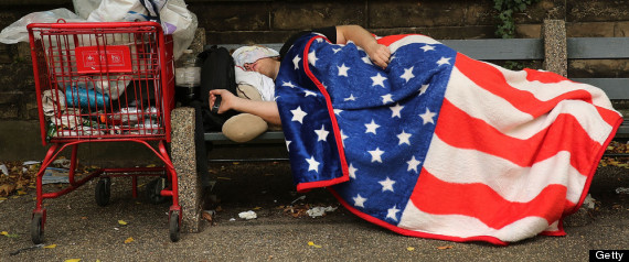 Poverty in America will continue to rise and the income gap between rich and poor will continue to grow as long as our government keeps destroying our economic freedoms. The biggest reason for the massive income gap is the stealthy, silent tax of inflation that impacts the poor so much more than the rich.   Image credit: Getty