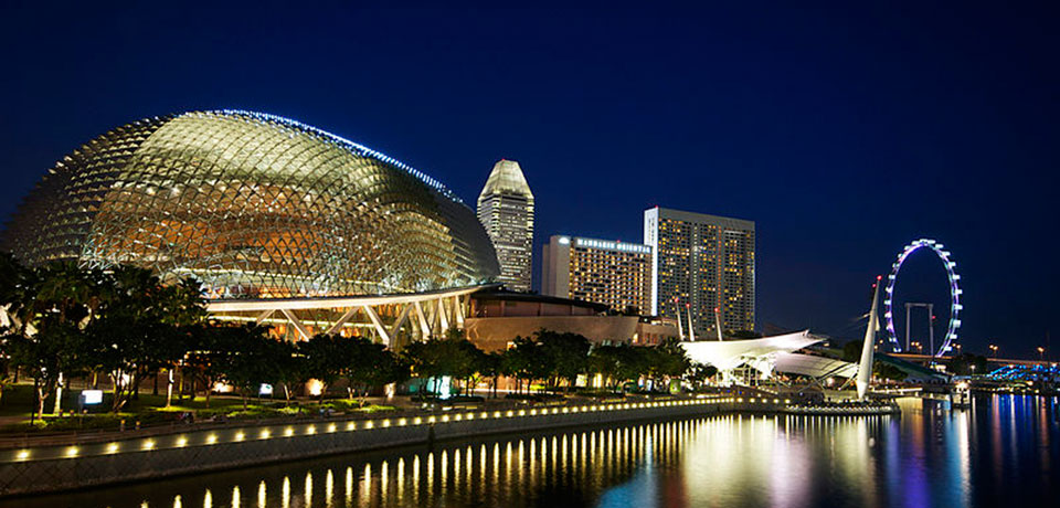 Singapore is the second most economically free country in the world. It's high standard of living is a result of that economic freedom.