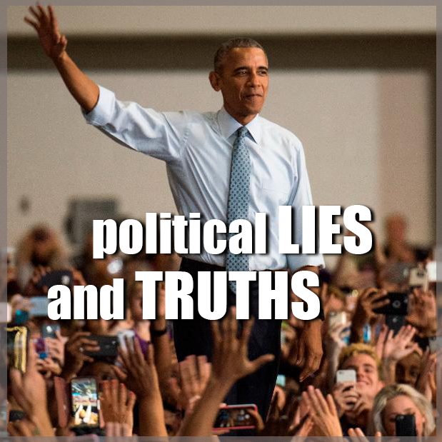 Political Lies and Truths