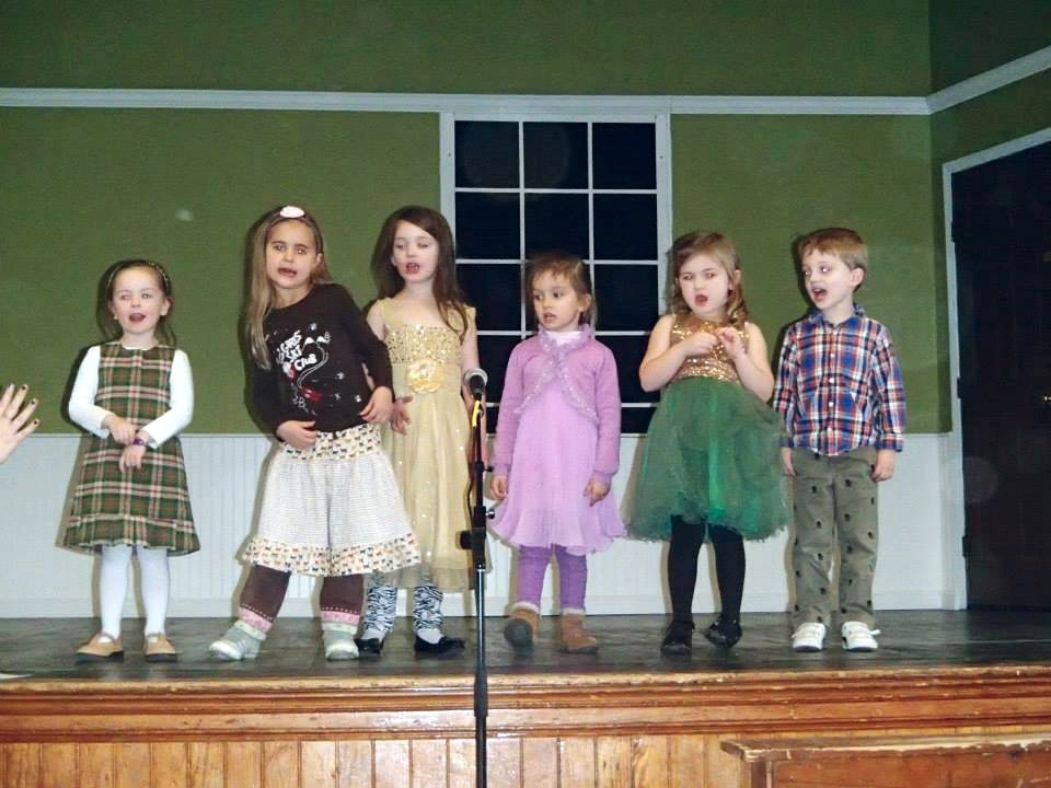 At Creative Kids Preschool, we   PERFORM.