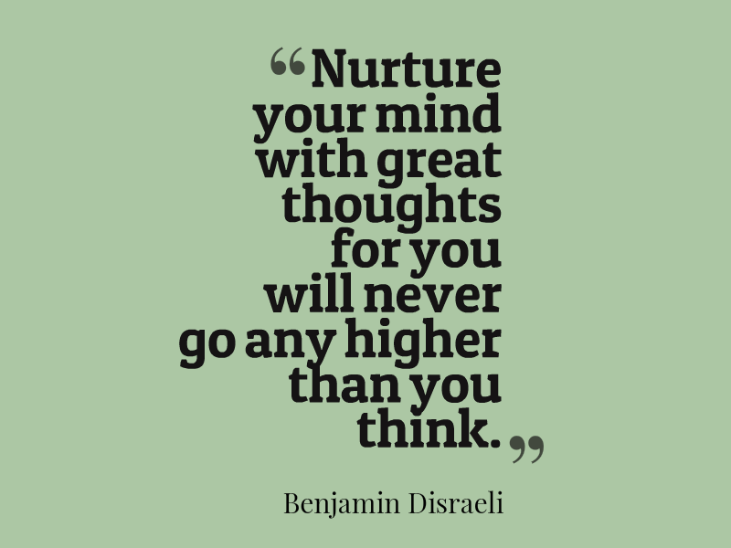 Nurture your mind