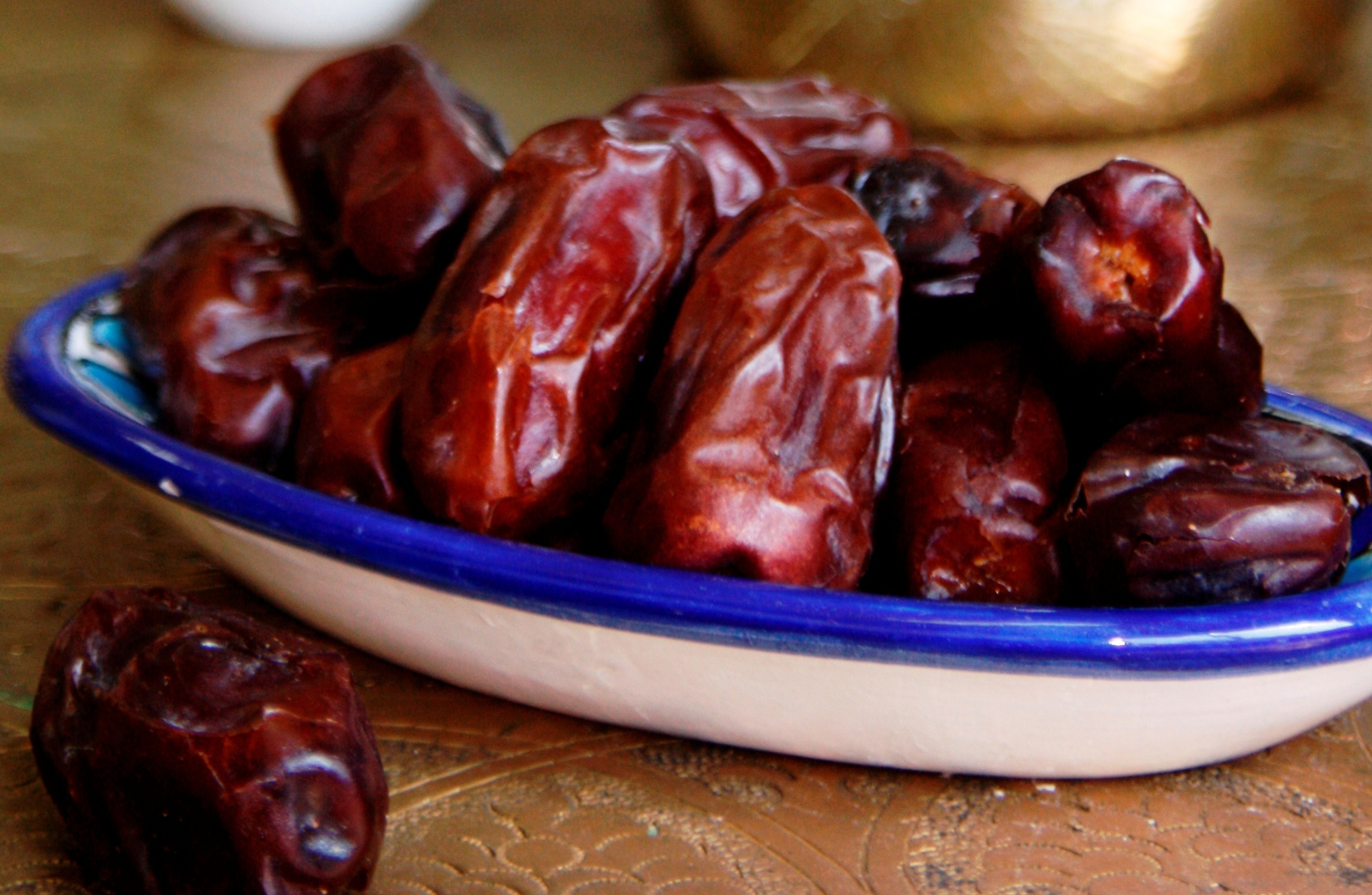 "Dates are used widely in Eastern Medicine to restore strength after illness including addiction. Dates have a nourishing and calming effect on the Central Nervous System. Dates have the food energetics related to ""kindness"" - explained in Western scientific terms, it has to do with their effect on balancing serotonin and our Central Nervous System."