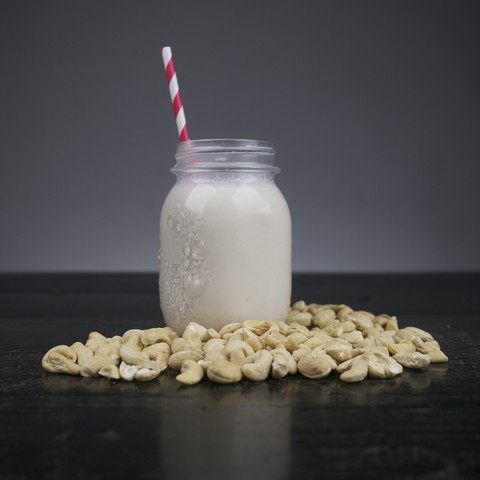Love cashewmilk! Just throw handful of cashews + 2 cups of water + dash of sea saltin a blender and enjoy just like that! In coffee, on oats or... just like that. So delicious.
