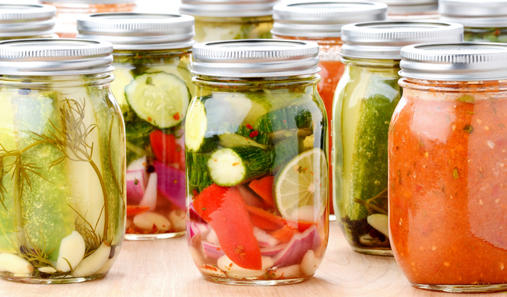 Fermented vegetables are easy and cheap to make yourself - just water, salt and veggies, that's it! And much more potent than most probiotic supplements.