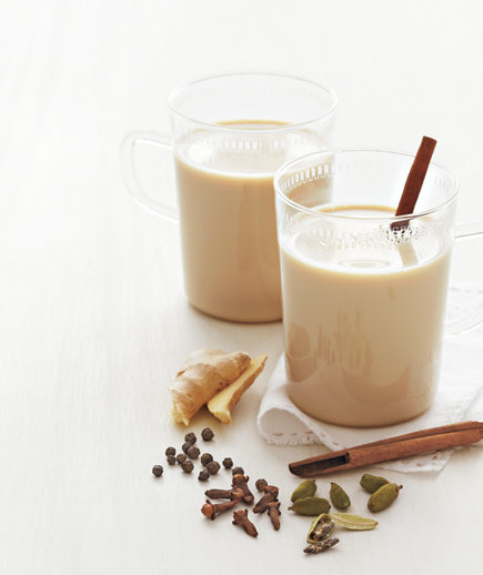 Sweet, warm and nourishing chai. The spices help to digest the otherwise heavy and difficult to digest milk. You can also choose coconut milk if you wish to bypass dairy. But know, that heating and adding spices to milk does pre-digest it, so many will find they can tolerate it well this way.