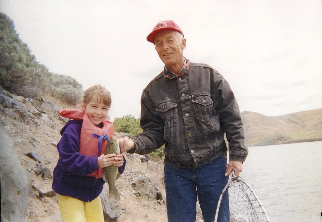 Fishing on the Snake River, 2006