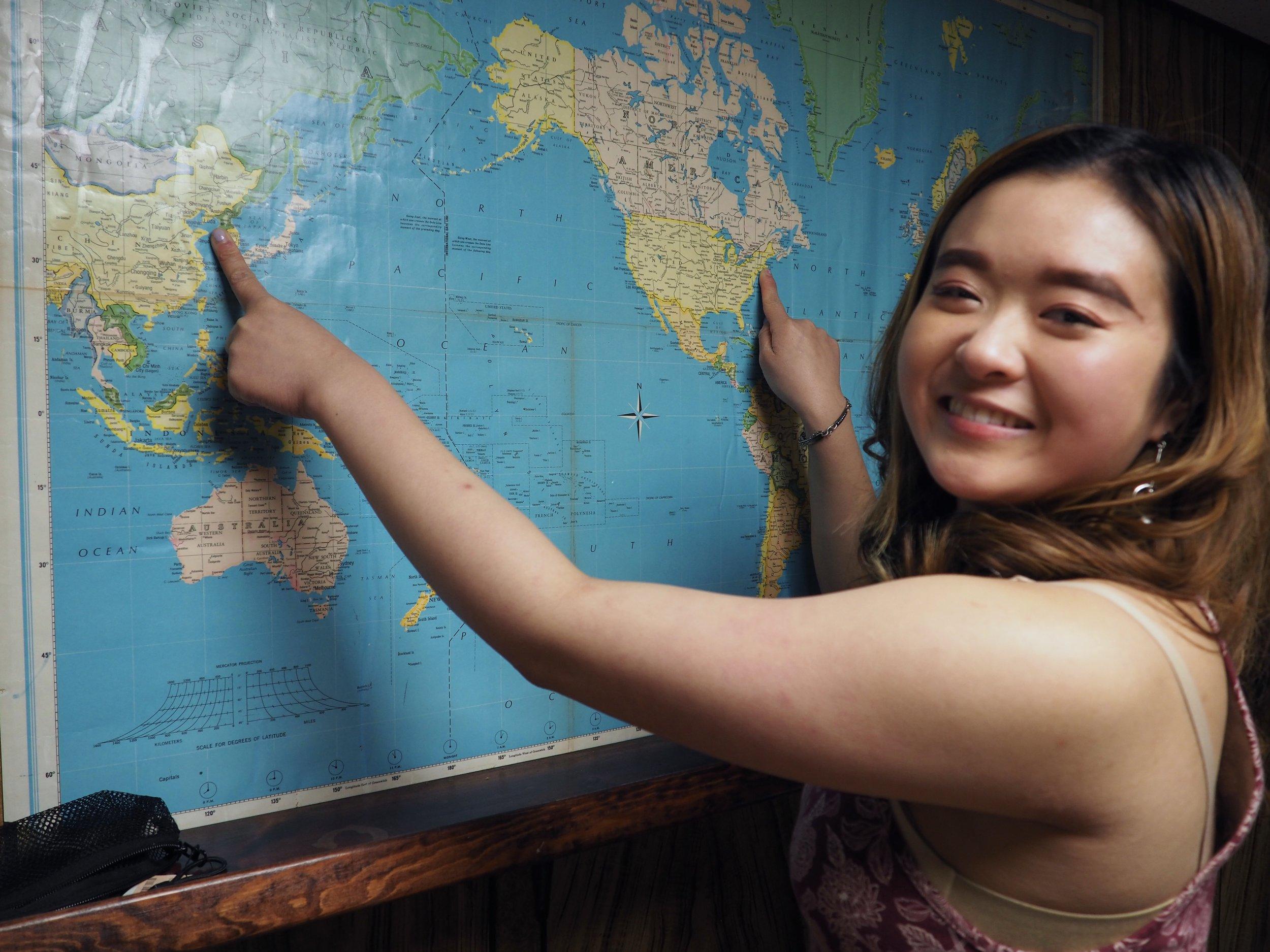 Nicole: Brooklyn and Korea/China