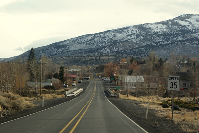 Entering Paisley, Oregon
